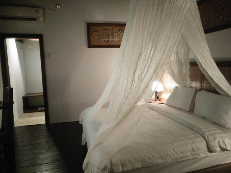 Salah satu kamar Kasuari Valley Beach Resort / foto: istimewa