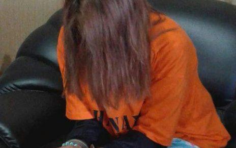AMA, wanita yang dibekuk oleh Polres Sorong Kota