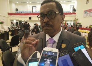 Jhon Lewerisa, Ketua Komisi C, DPRD Kota Sorong.