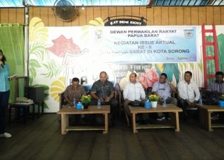 Pelaksanaan Kegiatan Issu Aktual II, DPR Provinsi Papua Barat