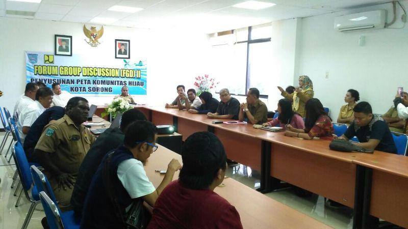 Pemerintah Kota Sorong gelar Focus Group Discussion membahas RTH