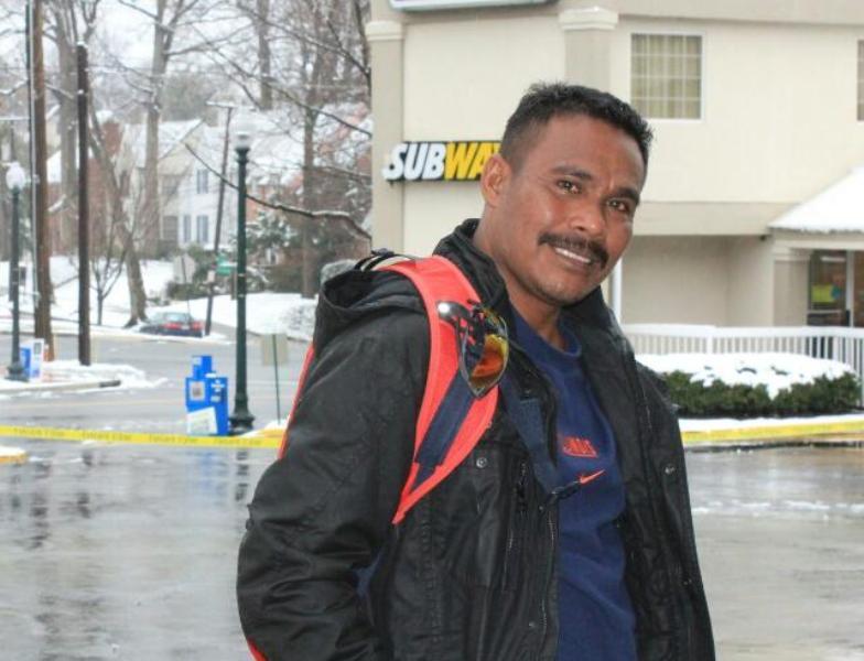 Yopi Dami, Pelatih atletik Kabupaten Kaimana.