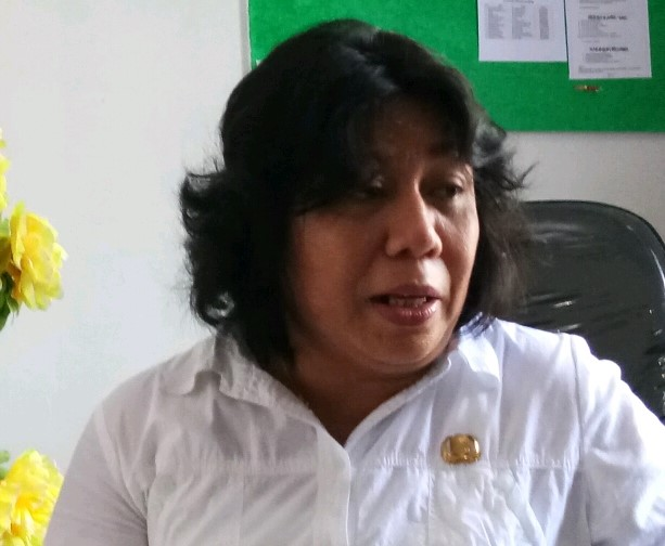 Joice M Tuanakotta, Kepala Dinas PPPA Kaimana.