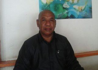 Markus Souisa, SH. Kuasa Hukum MLL terduga Kasus Korupsi proyek pengadaan air bersih di Kabupaten Raja Ampat.