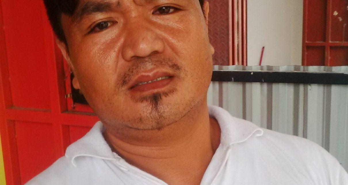 Antoni, warga Jalan Nangka, Distrik Aimas, Kabupaten Sorong