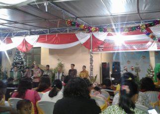 Perayaan Ibadah Natal oleh Satker Sorong dan Maybrat
