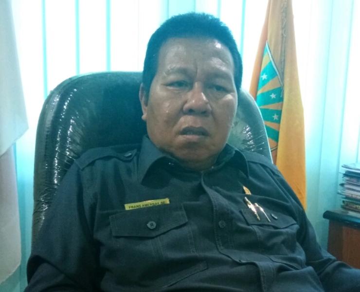Frans Amerbay, Ketua DPRD Kaimana.