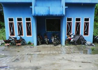 Pos Penjagaan TPA Sampah Kilometer 32, Kab. Sorong