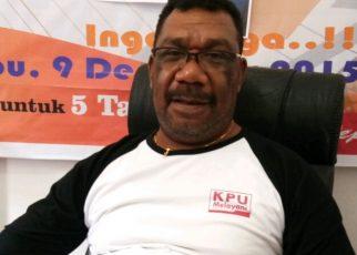 Divisi teknis KPUD Kaimana, Junizar A. Airori