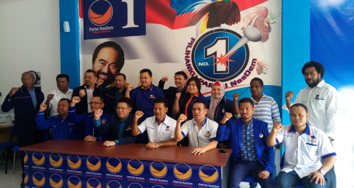 Pengurus DPW Partai NasDem Papua Barat