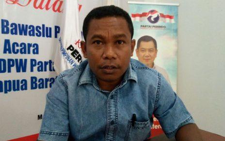 Ketua DPW Partai Perinda PB, Marinus Bonepay