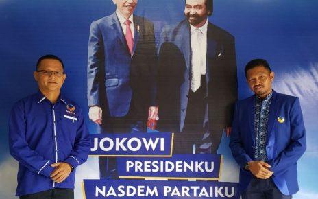 Ketua KSN PB, Ranley H.L. Mansawan dan Sekretaris KSN PB, Syamsudin Seknun