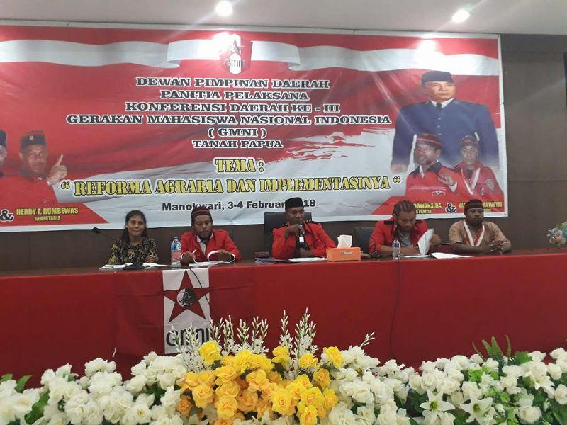 Konferensi Daerah ke III GMNI Tanah Papua