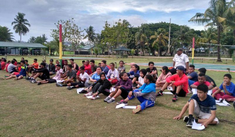 Para peserta seleksi Pra PON ke XX tahun 2020 asal Kota Sorong