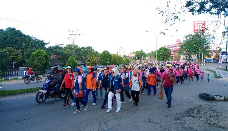 Jalan Santai dalam rangka perayaan HUT IWAPI PB ke-43