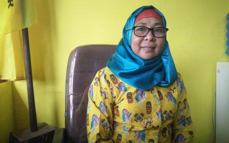 Sekretaris DPD Partai Golkar KOta Sorong, Astrid Andi Sampara