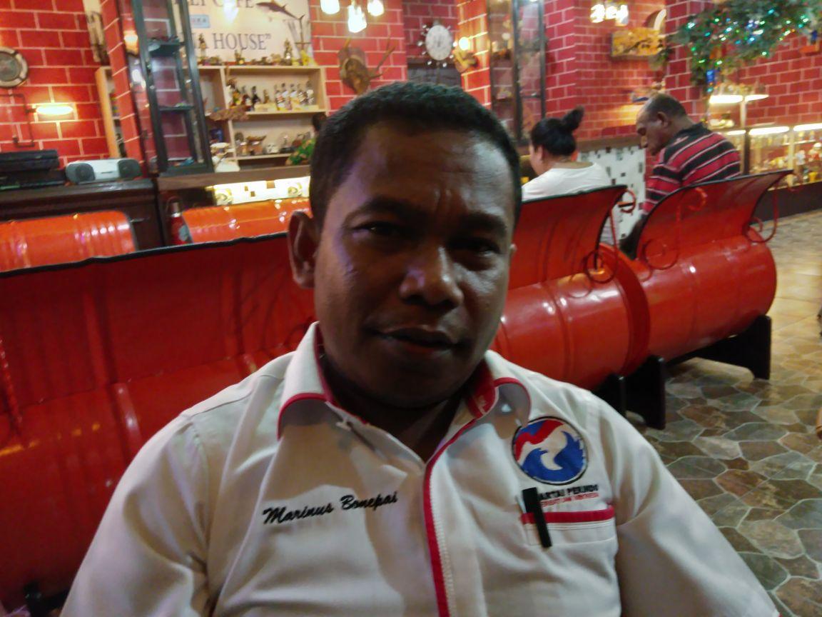 Marinus Bonepay, Ketua DPW Partai Perindo Papua Barat.