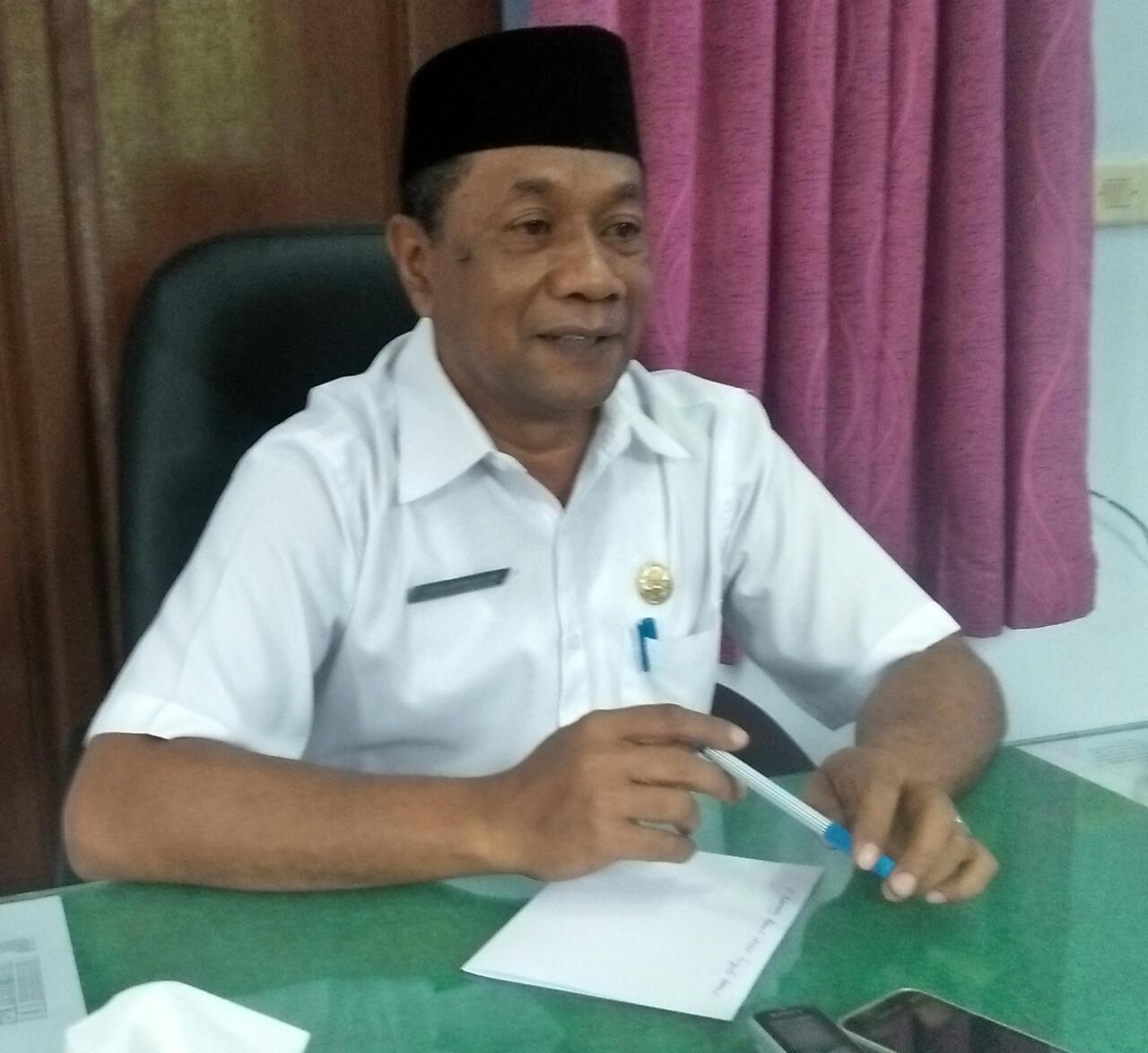 Sirajudin Bauw, Kepala Kantor Kementrian Agama Kabupaten Teluk Bintuni.
