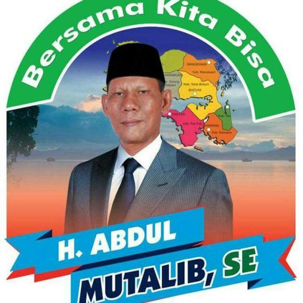 Abdul Muthalib, Ketua DPW PBB Papua Barat
