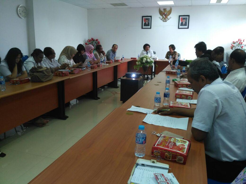 Rapat pembahasan kedatangan 28 Duta Besar Negara