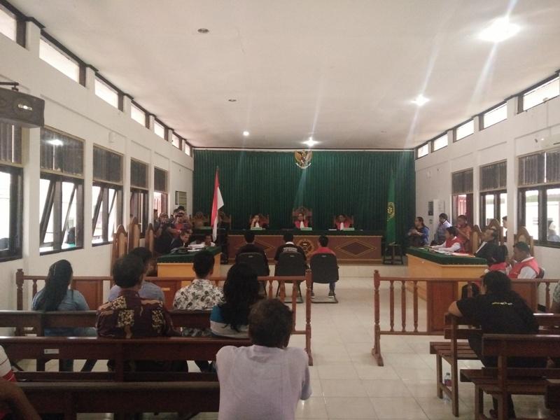 Sidang kasus HPS dengan agenda pemeriksaan saksi kepolisian