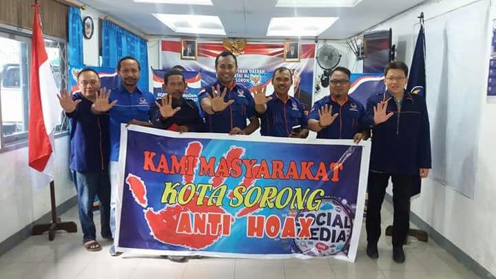 Pengrus DPD Nasdem Kota Sorong