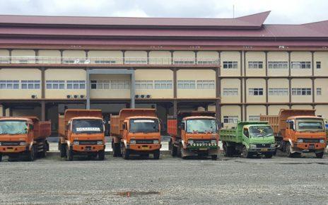 BB Drum Truck milik PT NHKA Yang diamankan Penyidik Tipidter Ditreskrimsus Polda Papua Barat