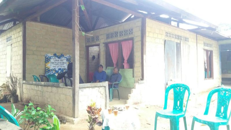 Rumah Duka Pratu Vicky Rumpaisum di Kota Sorong