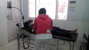Salah satu korban yang masih di rawat di RSUD Marinda Raja Ampat