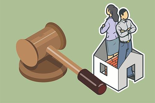 Gambar Ilustrasi Para terdakwa yang Terlambat