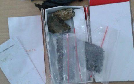 Barang Bukti Narkoba Jenis Ganja Yang Diamankan Satuan Resnarkoba Polres Fakfak dari Tersangka NHE alias Jul, Selasa (29/5/2018)