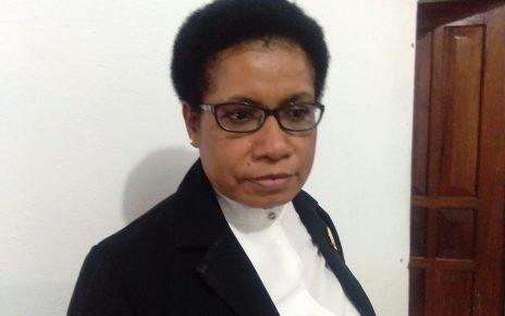 Ketua Bawaslu Papua Barat, Marlenny Momot,S.T