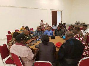 Tim Rekonsiliasi menggelar pertemuan dengan DPRD Maybrat untuk membahas persoalan letak kedudukan ibu kota Maybrat