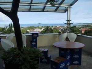 Hamparan Kota Sorong dapat dilihat dari Lantai III The Belagri Hotel. (Sumber Foto Google)