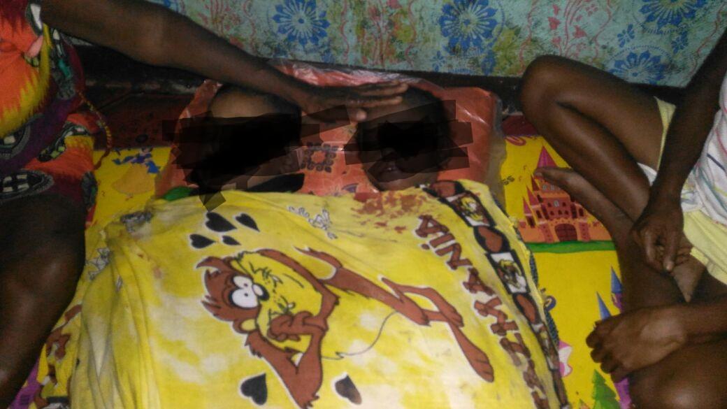 Dua Bocah Ditemukan Tewas Dalam Kolam Galian Penampunga Air di Samping Rumah Korban, Kampung Wariori, Distrik Masni, Kabupaten Manokwari, Jumat (29/6/2018). (Foto : Istimewa)