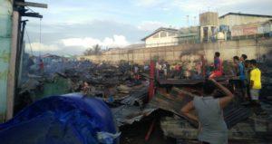 Api menghanguskan rumah warga jalan Bubara yang berdekatan dengan Pabrik Pengalengan
