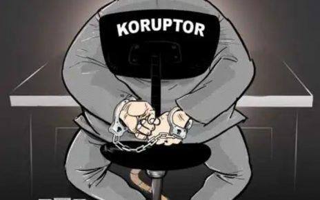 Ilustrasi koruptor