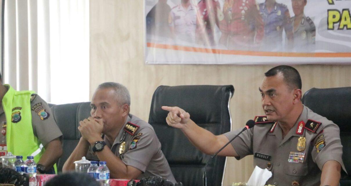 Kapolda Papua Barat, Brigjen Pol Rudolf A.Rodja Memimpin Sidang Kelulusan Sementara