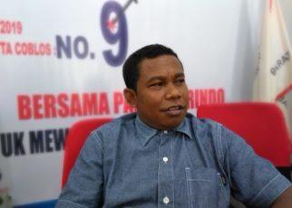 Ketua DPW Partai Perindo PB, Marinuss Bonepay
