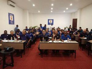 Peserta Rapat Pleno DPW Partai NasDem Provinsi Papua Barat di Hotel Vega Sorong, Jumat (1/6/2018)