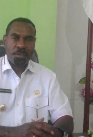 Mesak Metusala Yekwam, Wakil Bupati Kabupaten Tambrauw.