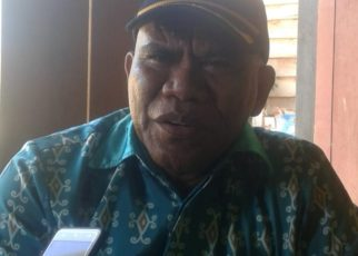 Yopie Silitubun, Kepala Dinas Ketahanan Pangan, Kabupaten Tambrauw. / (foto : Trisnah)