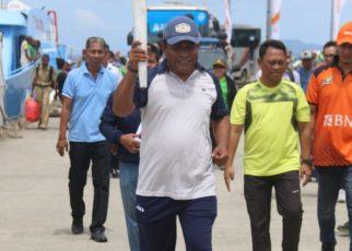 Gladi Bersih persiapan penyambutan Obor Api Asian Games 2018