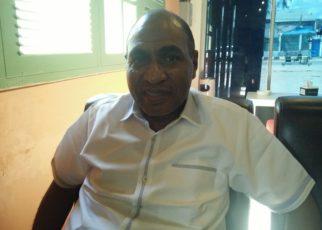 Mohammad Lakotani, Ketua DPD Partai Gerindra Papua Barat. / (foto: Mohan)