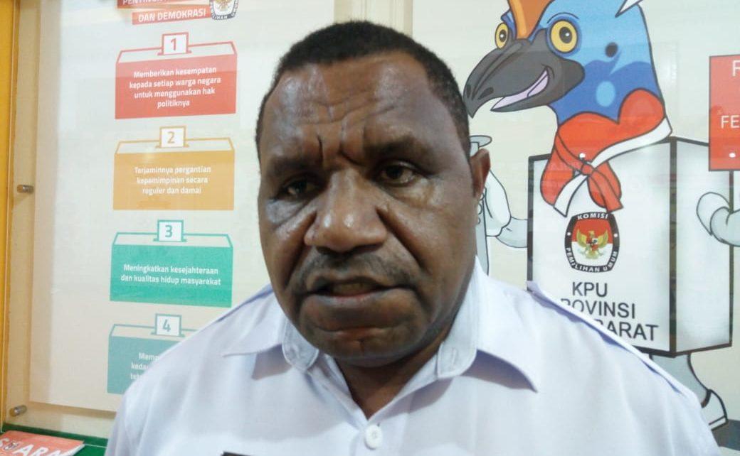 Ketua KPU PB, Amus Atkana,S.Pt.,M.M