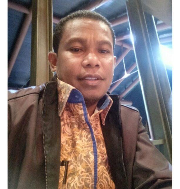 Ketua DPW Perindo Papua Barat, Marinus Bonepay