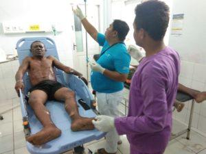 Korban Kebakaran Speedboat Blue Marin menjalani perawat intensif di RSUD Waisai