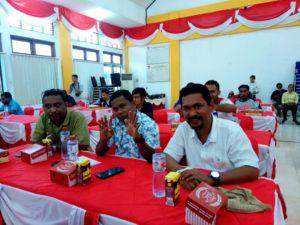 Pengurus DPW Partai Perindo Mengikuti Bimtek Mekanisme Pencalonan Bacaleg di Aula KPU Papua Barat, Selasa (3/7/2018