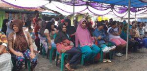 Ratusan masyarakat pasar bersama menghadiri kegiatan reses ke-II Anggota DPR Papua Barat, M. Sanusi Rahaningmas,S.Sos.,M.M.,S.Ip, Sabtu (30/6/2018)