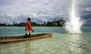 Ilustrasi Bom Ikan
